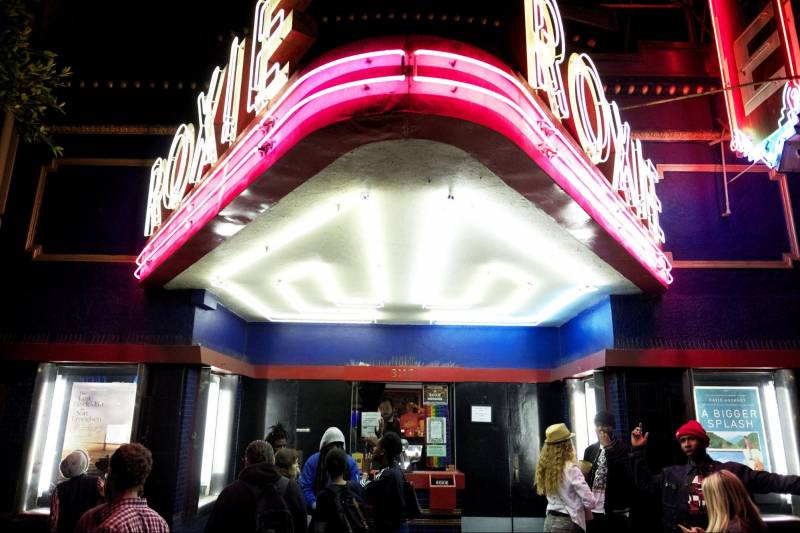 The Roxie Theater in San Francisco's Mission District is one of the Bay Area's many smaller, independently run movie theaters.