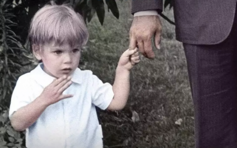 The cover of 'Beautiful Things: A Memoir,' by Hunter Biden depicts the author as a toddler.