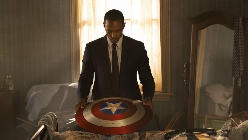 'The Falcon and the Winter Soldier' explores the question of whether there can be a Black Captain America.