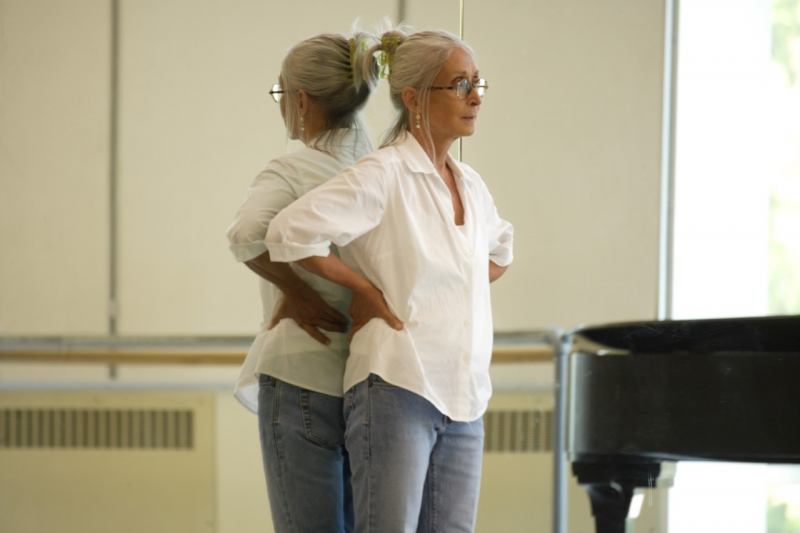 "Twyla Tharp, shown above at Pacific Northwest Ballet in 2008, says the pandemic has impacted her body: ""In terms of routine, discipline, just ordinary day-to-day activities—the body doesn't know itself at the moment."""