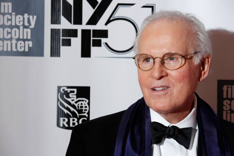 Charles Grodin attends the world premiere of 'Captain Phillips' in 2013.