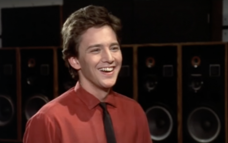 Andrew McCarthy in a moment from 1987's'Mannequin'.