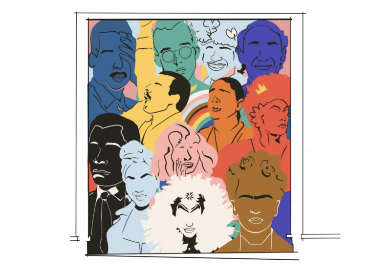 """""""Queeroes"""" will recognize remarkable individuals who have impacted—and stood up for—the LGBTQ community throughout history."""
