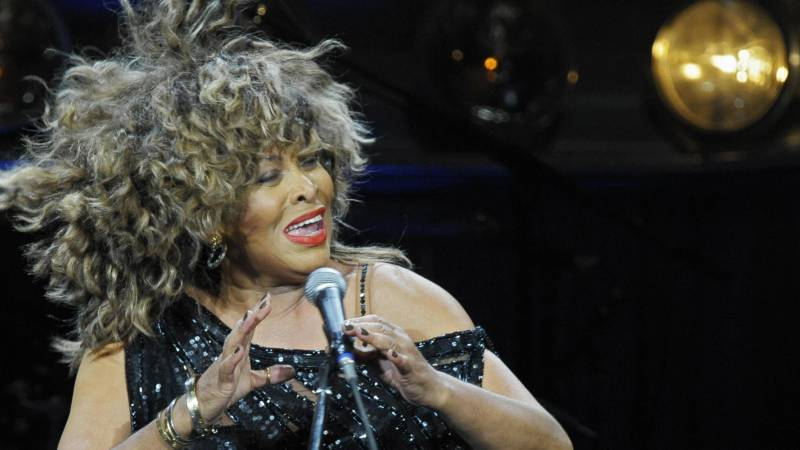 Tina Turner performs at the O2-World venue in Berlin on January 26, 2009.