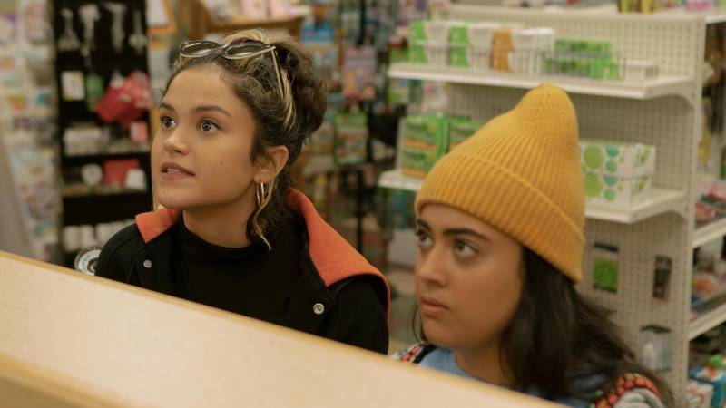 Lupe (Victoria Moroles) and Sunny (Kuhoo Verma) are snubbed at the pharmacy when Lupe needs a morning-after pill.