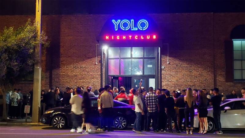 Slim's no more: YOLO on Saturday, June 19, during its soft opening.