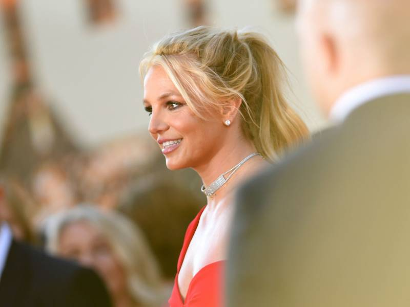 Britney Spears arrives for a movie premier in Hollywood, on July 22, 2019. On Wednesday, the singer asked a judge to end her conservatorship.