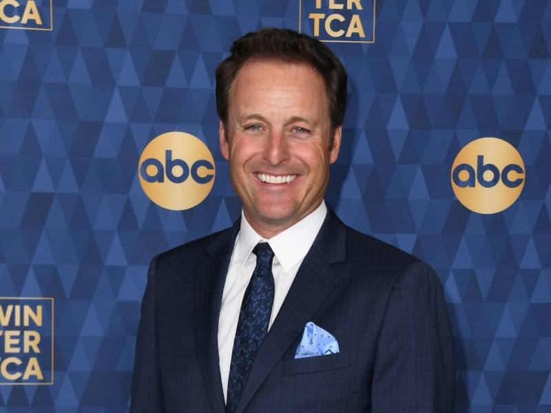 Chris Harrison smiles at an ABC event on January 8, 2020.