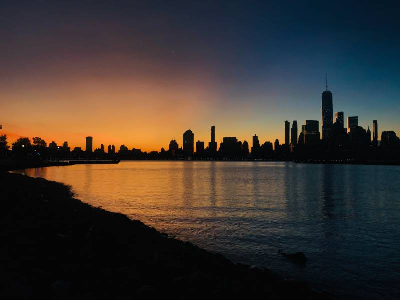 The young protagonists in 'Blackout' are trying to navigate New York City in a blackout, before the sun goes down.