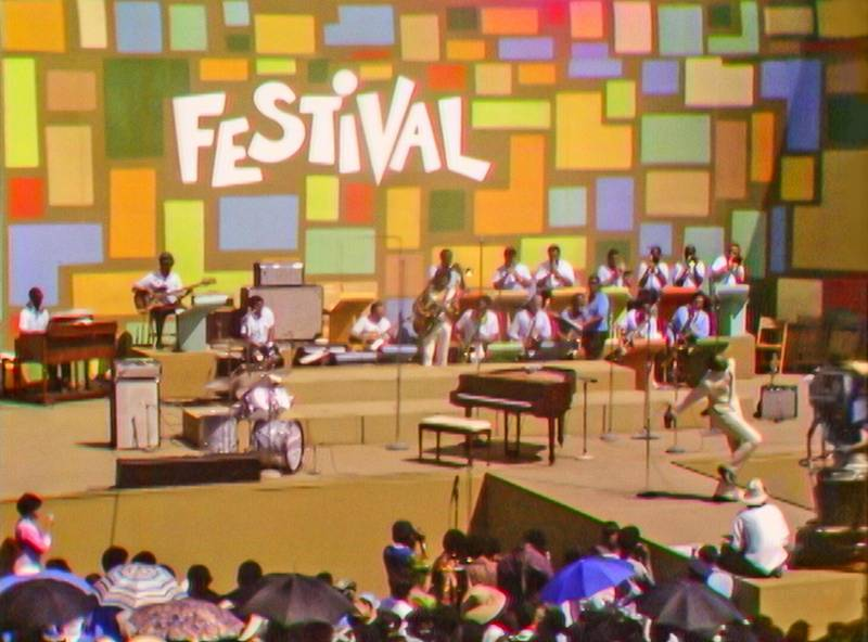 The Harlem Cultural Festival in 1969 in the documentary 'Summer of Soul.'