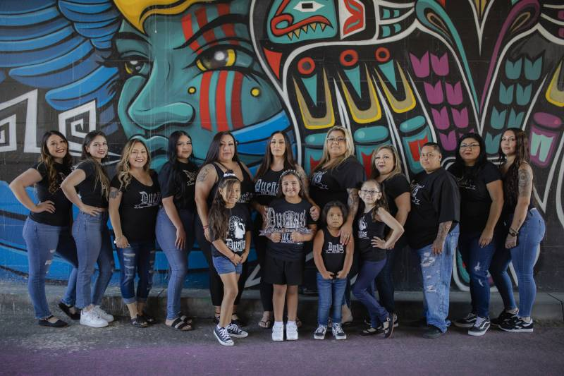 Dueñas Car Club, an intergenerational group of women and girls, who love lowriders.