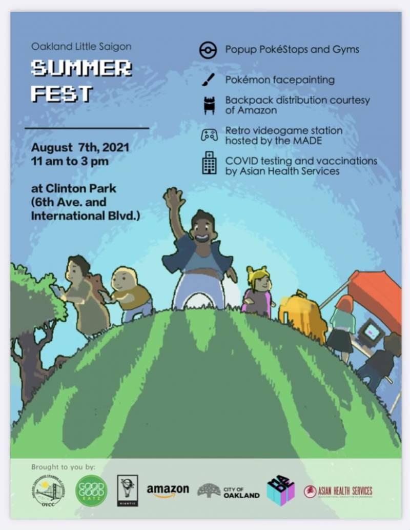 A poster for Eastlake Little Saigon Summerfest