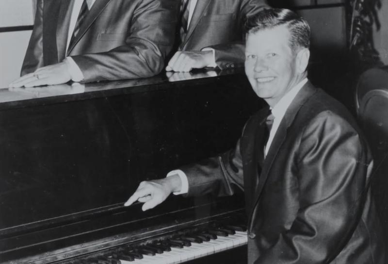 Jazz pianist Billy Tipton in his heyday.