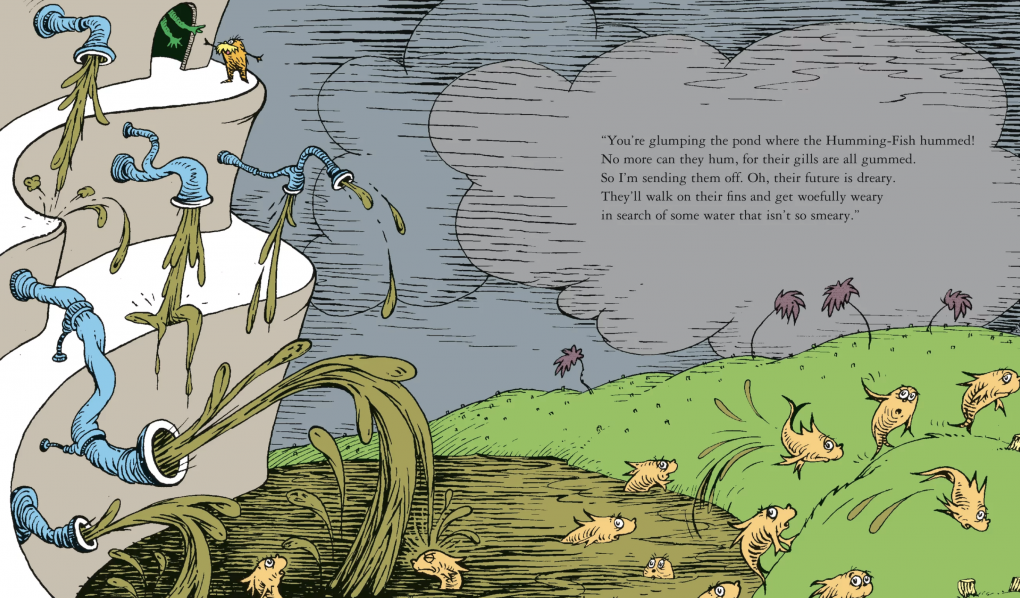 50 years ago, Dr. Seuss issued dire warnings about environmental destruction, via 'The Lorax'.