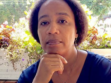 Author Myriam J.A. Chancy.