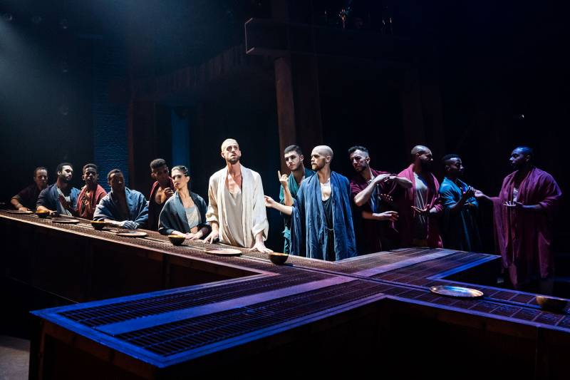 The Last Supper, as part of the North American Tour of 'Jesus Christ Superstar.'