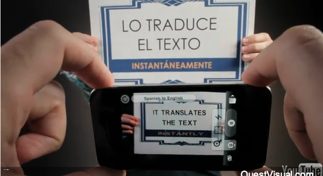 No More Lost in Translation with WordLens