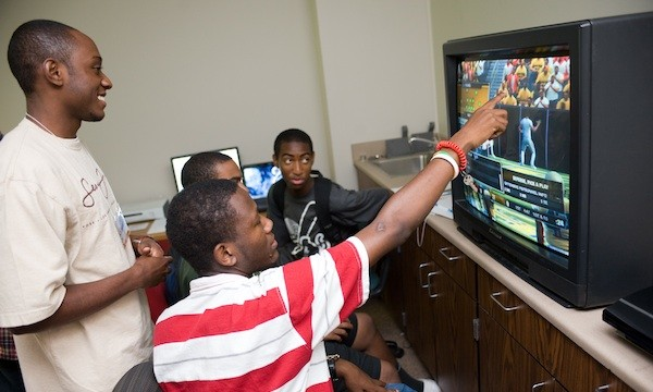 Image result for african kids playing video games