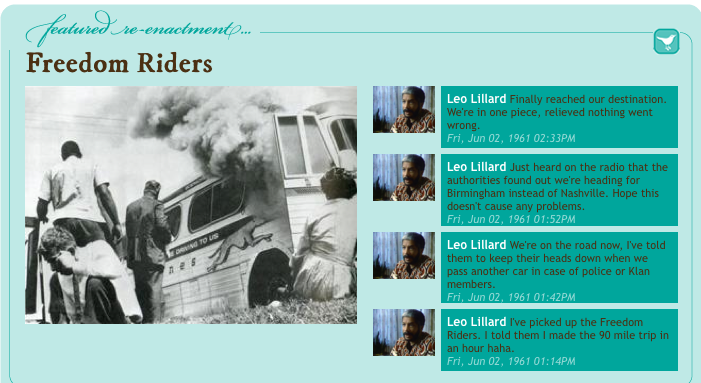 What Would the Freedom Riders Have Tweeted?