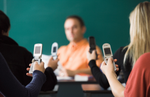 The Rise (and Fall?) of Text Messaging in Schools