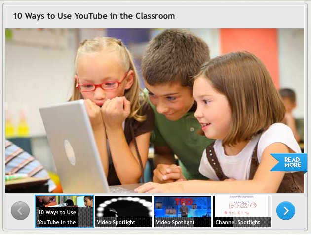 YouTube Launches Site Specifically for Teachers