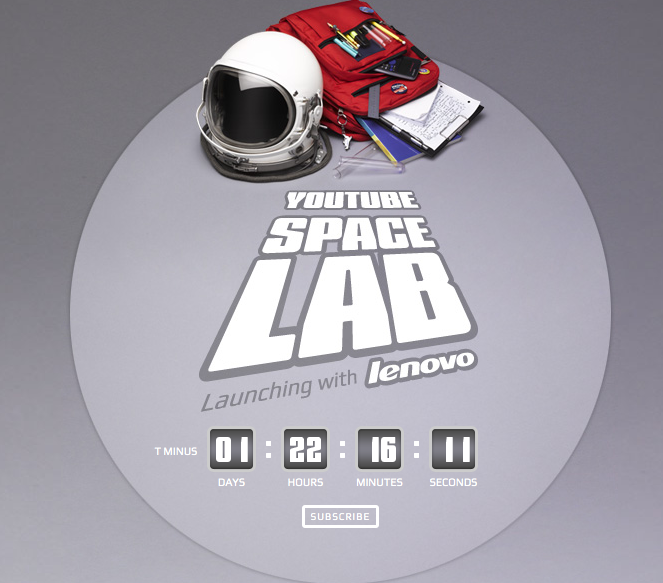 YouTube SpaceLab Launches Student Experiments Into Space