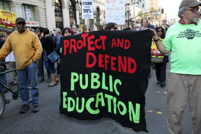 How One Teacher Brought Lessons from Occupy Wall Street to Class