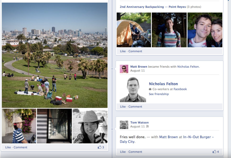 Polishing the Student's Image on Facebook Timeline