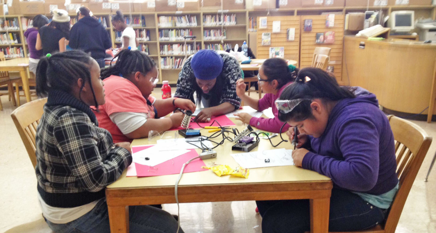 Steering Girls to Science and Tech Careers