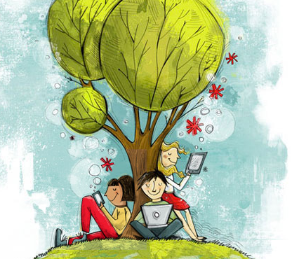 Budding Writers Benefit from Sharing Their Work Online