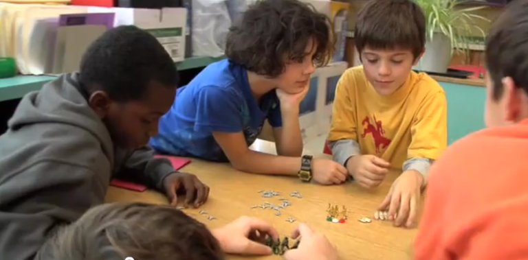 Letting Fourth Graders Solve the World's Problems
