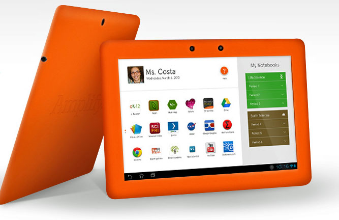 Amplify's New Tablet Hits the Market