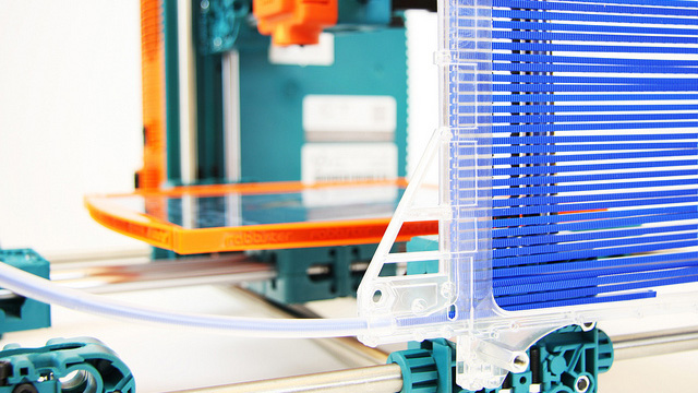 3D printers in schools will be common.