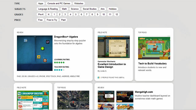 Confused About Ed Tech Tools? New Rating Site for Apps and Games