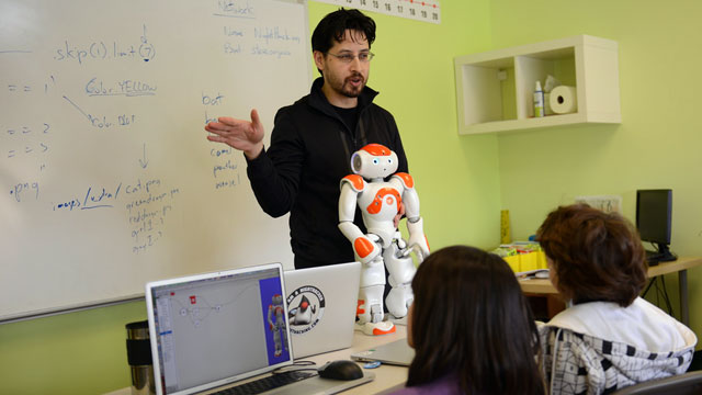 Robots In The Classroom What Are They Good For Mindshift Kqed News