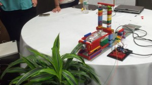 Educators at Constructing Modern Knowledge built an automatic plant watering device with no previous experience of engineering, programming or design. (CMK 2014)