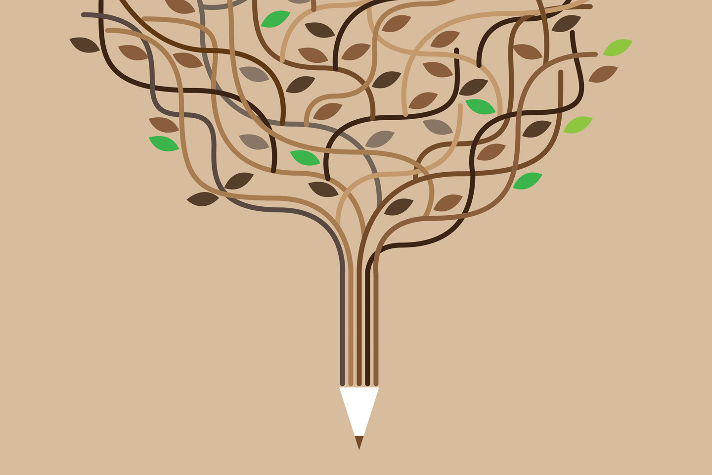 Pencil-tree
