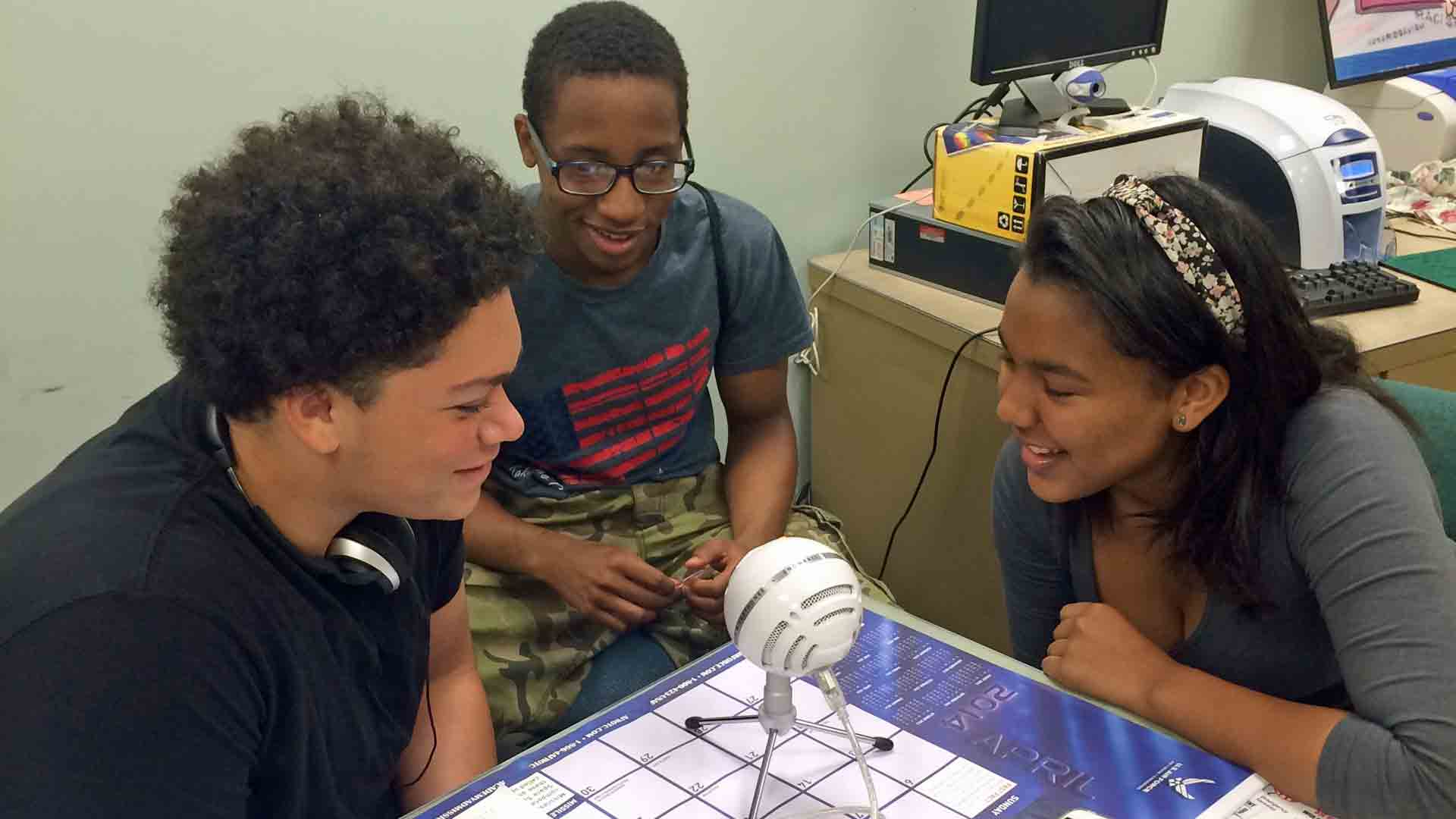 Inspired By Serial, Teens Create Podcasts As A Final Exam