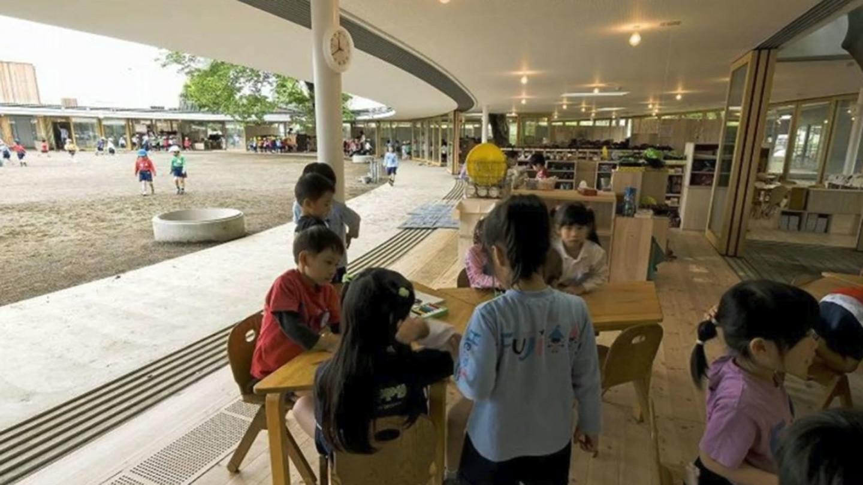 A Kindergarten Designed to Let Kids Be Kids