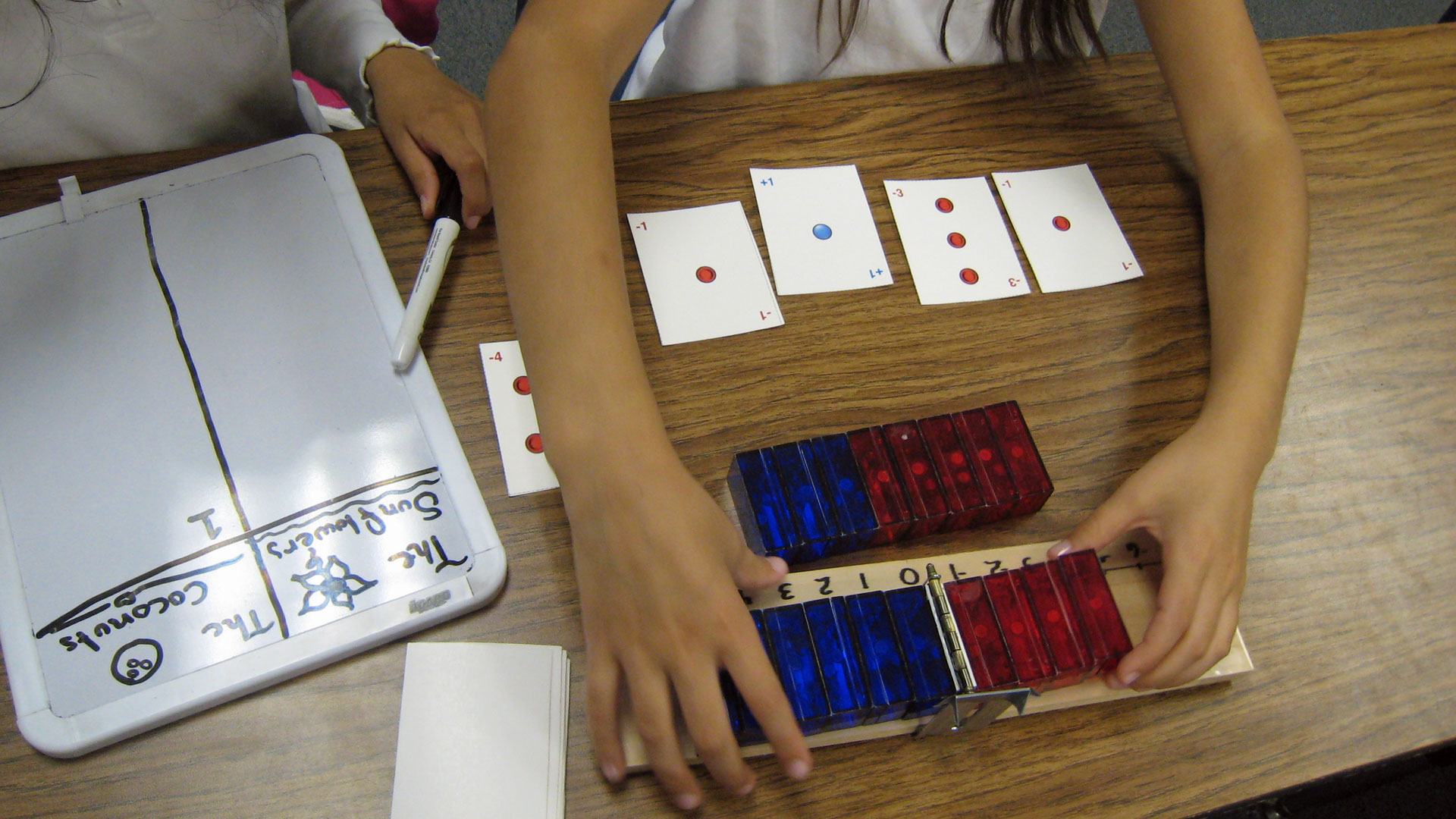 Researchers from Stanford's AAALab built a manipulative to emphasize symmetry and tested it on 4th graders.