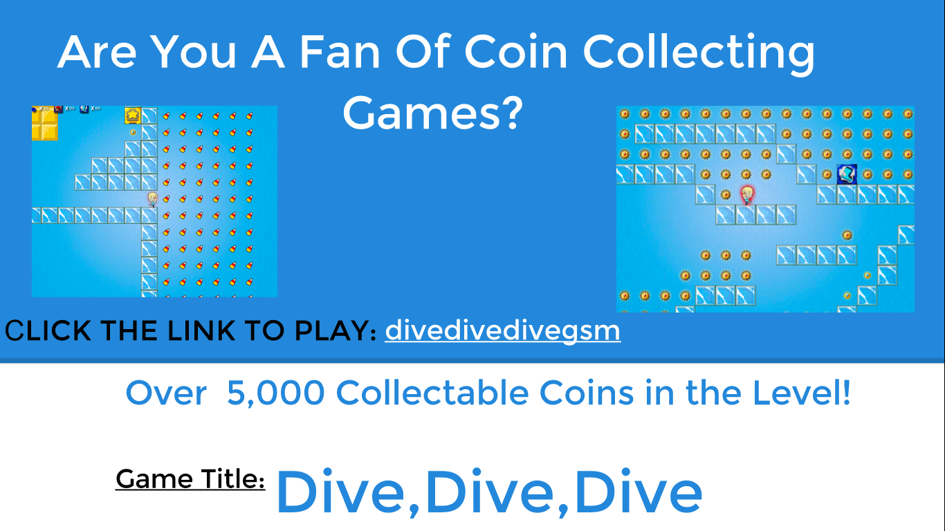 Coin Collecting Game Dive Dive Dive