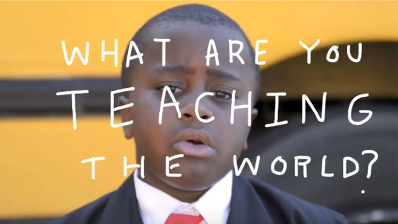 The Funniest Back-To-School Pep Talk You May Have Missed