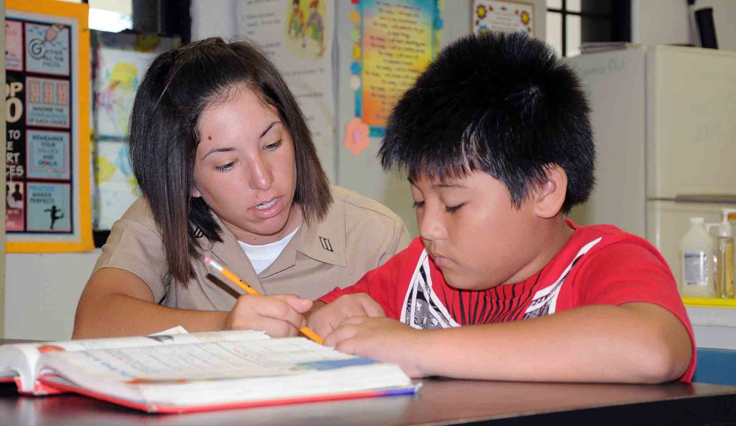Study: Kids' Math Anxiety Reduced When Learning With Tutors