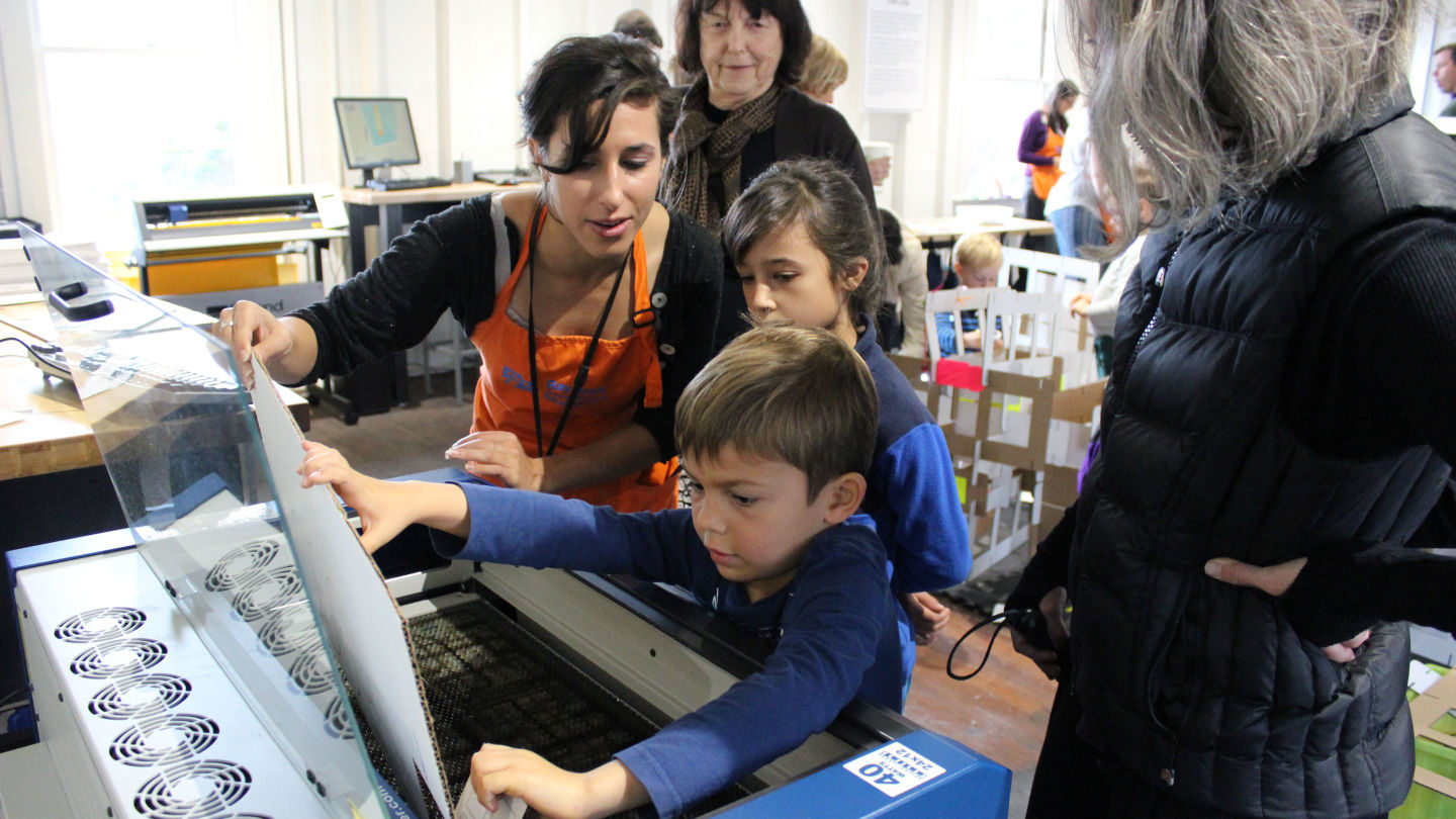 Can Kids As Young As Three Learn to Design and Create In Fab Labs?