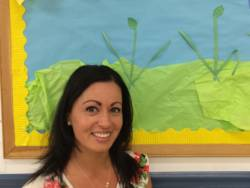 Maria Santos is a licensed clinical social worker and ECCP consultant in Bridgeport, Conn. She's constantly on the move between preschool sites that she's advising, often eating lunch in her