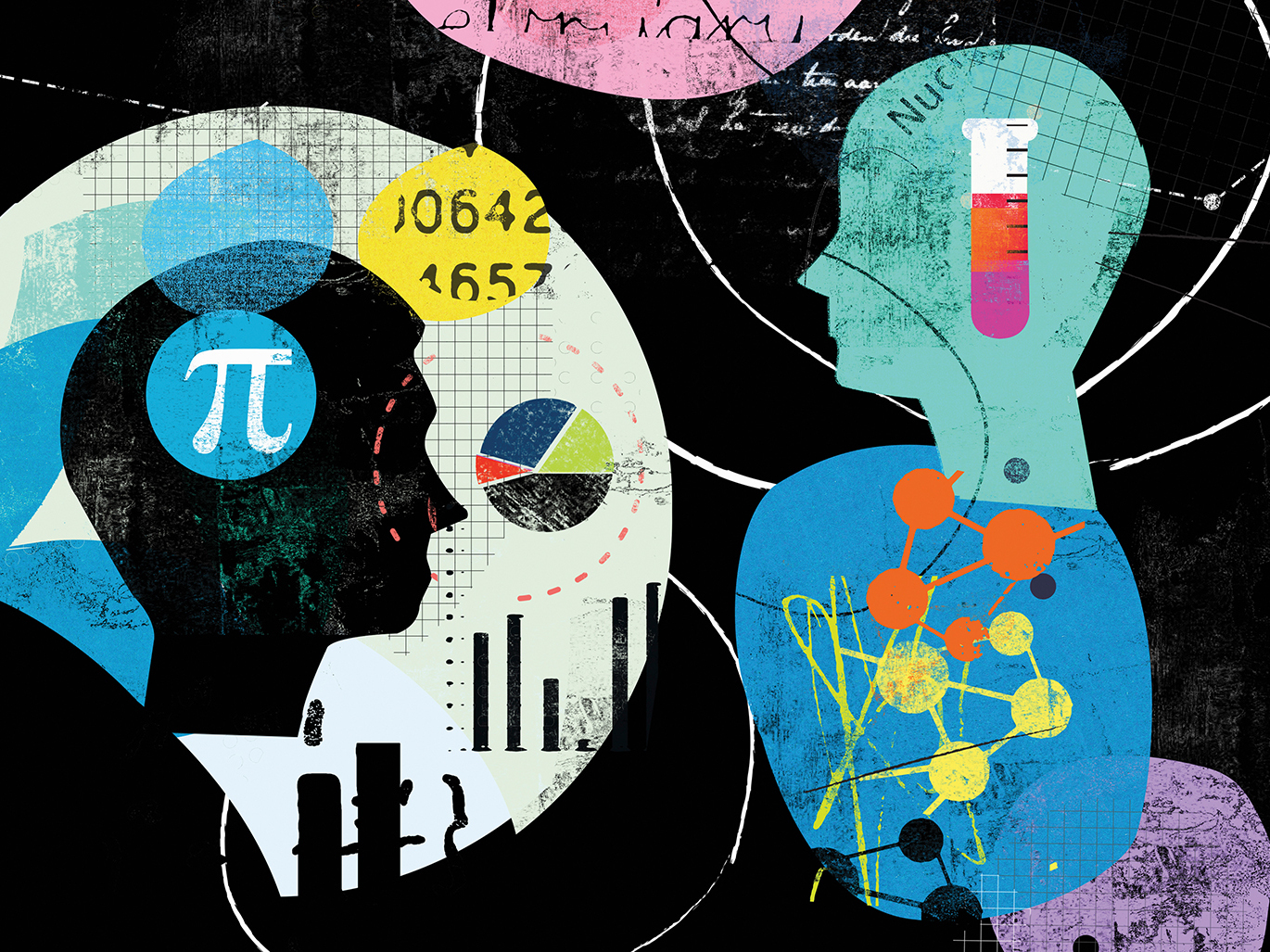 How Much Do Visual Experiences Shape How People Think About Math?
