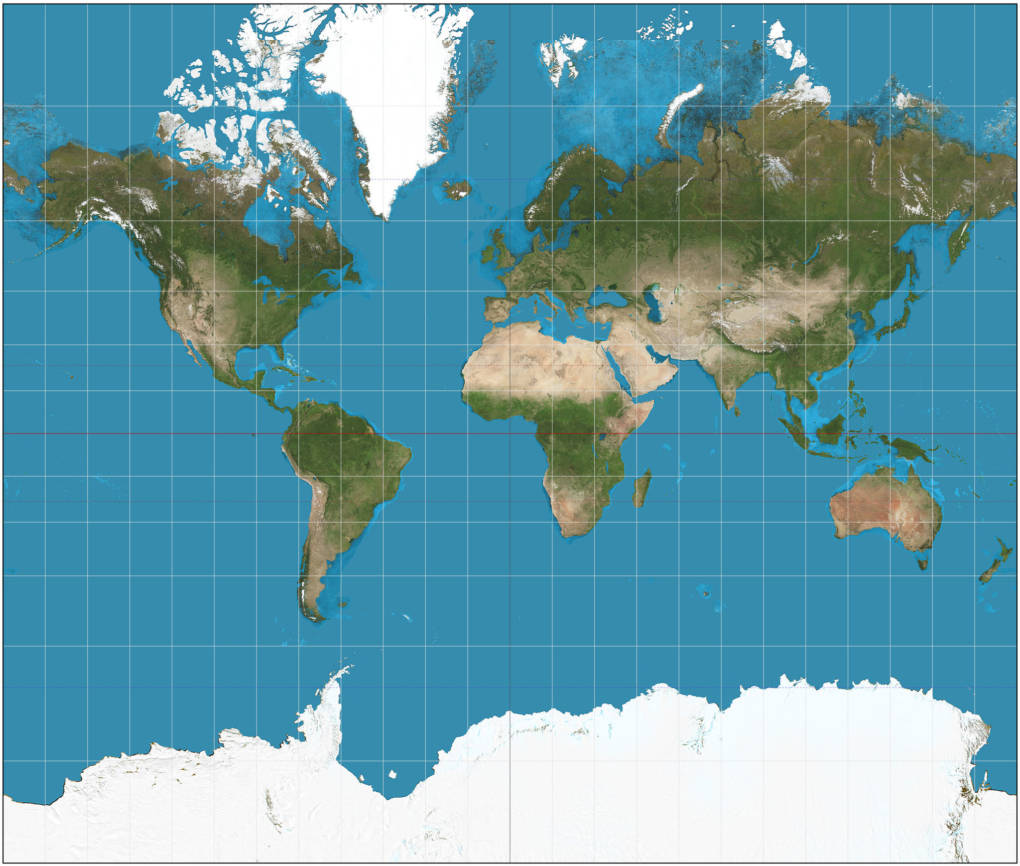 The Meractor projection