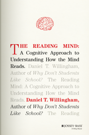 Page photo: The Reading Mind, by Daniel T. Willingham