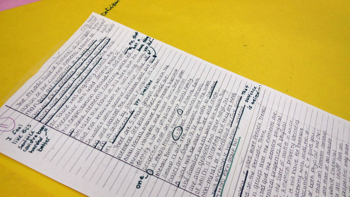 What's The Middle Ground Between Grammar And Voice When Teaching Writing?