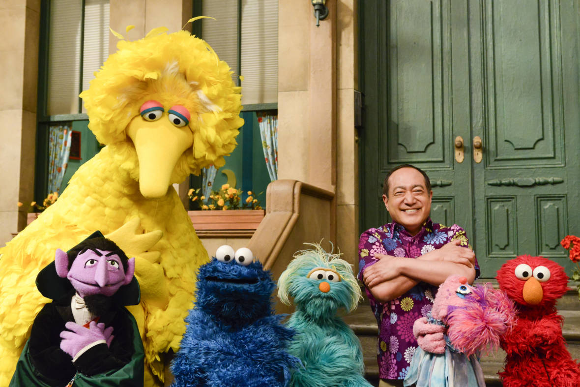 For Traumatized Children, An Offer Of Help From Sesame Street in Communities